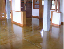 Houston Concrete Services - Acid Stain