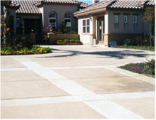 Houston Concrete Services - Colored Concrete