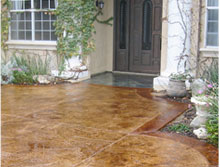 Houston Concrete Services - Concrete Stamping