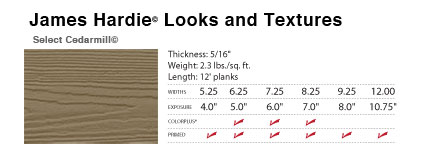 James Hardie Houston Select series look and feel