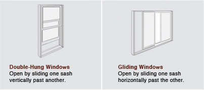 Houston Double-Hung and Gliding Windows